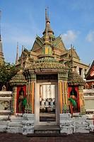 Wat Po in Bangkok, Thailand Wat Pho Giants