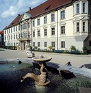 Germany, Eichstaett, Altmuehl, nature reserve Altmuehl Valley, Franconian Alb, Franconian Jura, Upper Bavaria, Bavaria, Residence Square, prince-bisho...