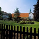 Germany, Rehburg-Loccum, nature reserve Steinhuder Meer, Rehburg mountains, Lower Saxony, monastery Loccum, Cistercian monastery and parish church Sai...