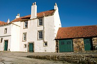 Restored Fishermen's Cottages, Pittenweem, East Neuk of Fife, Scotland