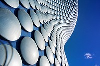Selfridges building abstract, Birmingham, England