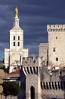 France, Vaucluse, Avignon, Palais des Papes, the Pope's Palace The work carried out in the 'Old Palace' by Benedict XII started in 1335 with the build...