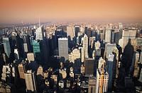 Breathtaking view of Manhattan