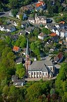 Aerial photo, Froendenberg, Ruhrgebiet area, North Rhine-Westphalia, Germany, Europe