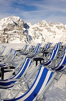 Schlick 2000 ski resort, Stubai Valley, Austria, Europe