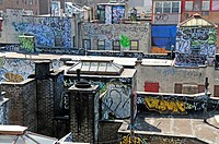 Graffiti, Manhattan, New York City, USA, America
