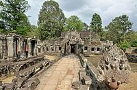 Banteay Kdei temple complex, Angkor, Cambodia, Asia
