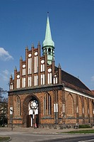 St. Peter's and St. Paul's Church of the Polish Catholic parish, Szczecin, Poland, Europe