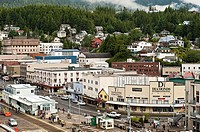 Town of Ketchikan, Alaska, AK, USA