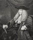 Charles Pratt, 1st Earl Camden, c  1714 to 1794  English lawyer, judge and Whig politician  Drawn by H  Warren  From History of Ireland, published c 1...
