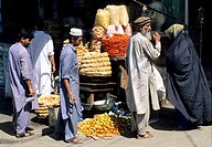 Pakistan, Swat valley, Mingora, The Bazar.