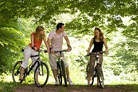 Friends on the bicycle