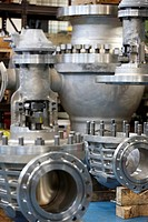 Valve assembly, metalworking, Gipuzkoa, Euskadi, Spain