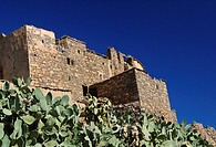 Berber stone house in Anti Atlas Mountains, Morocco