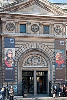 The National Portrait Gallery at Trafalgar Square, London, England