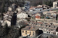 Panoramic View of Segovia, Spain