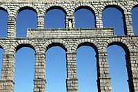 Old Aqueduct of Segovia, Spain