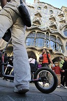 Casa Batllo by Antoni Gaudi, Barcelona. Catalonia, Spain.