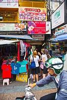 Khao San Road  Bangkok  Thailand  Southeast Asia  Asia.