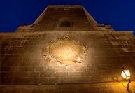 Sol de Portocarrero symbol of the city of Almeria