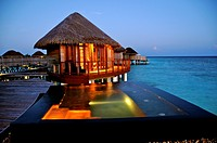 Indian Ocean, Maldives, Alifu Alifu Atoll, Constance Halaveli Resort