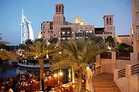 United Arab Emirates, Dubai, Burj Al Arab, Madinat Jumeirah,