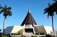 Iglesia de la Ermita de la Caridad in Miami, Florida, patron saint of the Cuban exile