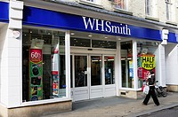 WH Smith Newsagents, Market Street, Cambridge, England, UK