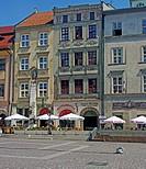 Cafe Maly Rynek Square Cracow/Krakow Poland