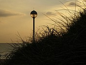 Beach Lighting in Westerland, Schleswig Holstein, Germany