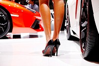 Geneva motor show , feature , girl , hostess
