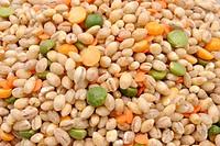 soup mix, organic barley, lentil, split pea