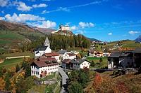 Switzerland, Canton Graubunden, Unterengadin, Tarasp