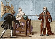 Petrus Van Musschenbroek 1692 _ 1761, Dutch mathematician and physicist.Musschenbroek developed a device for storing one or more charges of electricit...