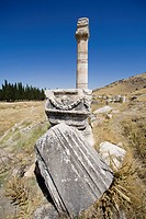 Pamukkale Hierapolis is and ancient city in Asia Minor