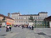 torino, palazzo reale, piemonte, italia, europa