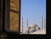 Blue Mosque seen from Aya Sofya