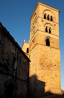 Romanesque bell tower of the church of Santa Maria Maggiore  Built between the XIV to XVI century