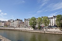 UNESCO World Heritage, Seine, Île de la Cité, 1st Arrondissement, 4th Arrondissement, Paris, Ile_de_France, France, Europe