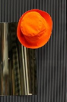 Orange hat hook