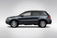 2011 Acura RDX RDX SH_AWD With Technology package in Gray _ Drivers Side Profile
