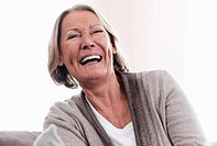 Germany, Wakendorf, Senior woman smiling