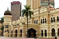 Malaysia, Kuala Lumpur, Merdeka, Sultan Abdul Samal palace