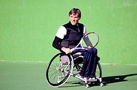 Football wheelchair tennis