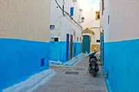 Kasbah des Oudaias fortress Rabat the capital of Morocco Africa