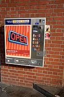Cigarette Machine On Wall Berlin Germany