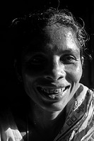 Portrait of a widow Her son sends money from abroad Chittagong, Bangladesh May 2009