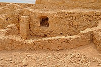 Fragment of Masada National Park, Israel, Asia