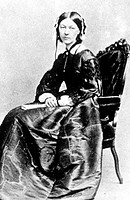 Florence Nightingale, 1855