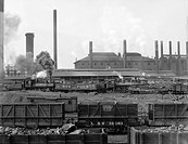 Tennessee Coal, Iron & Railroad Company's furnaces at Ensley, Alabama. 1906